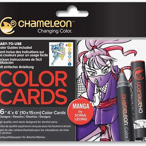 Chameleon Colour Cards ‐ Manga