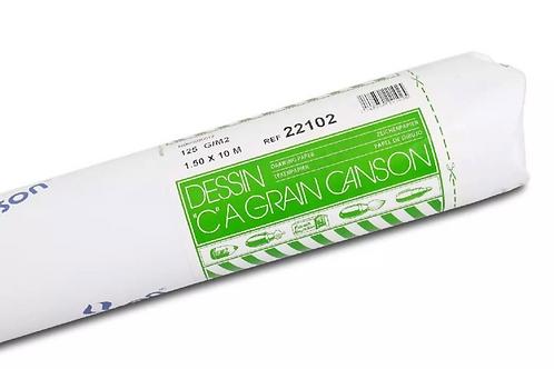 Canson C a' grain 125GSM 1.5 x 1000 cm Fine Grain - Roll