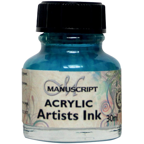 Manuscript MDP045 Acrylic Artists Ink - 30ml - Turquoise