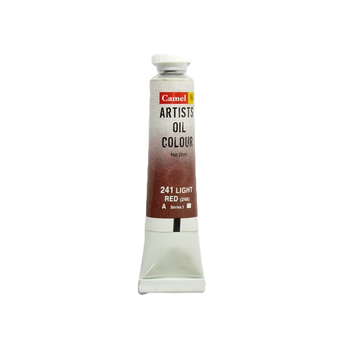 Camlin Kokuyo Artists Oil Colours 20ml - Light Red