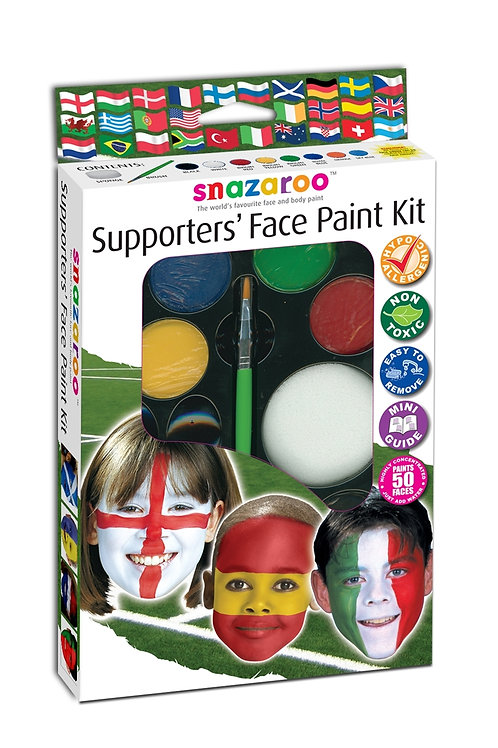 Snazaroo Supporter's Hanging Palette Kit with Window