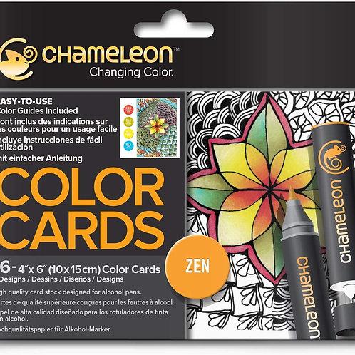 Chameleon Colour Cards ‐ Zen