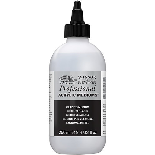 Winsor & Newton Professional Acrylic Glazing Medium - 250ml