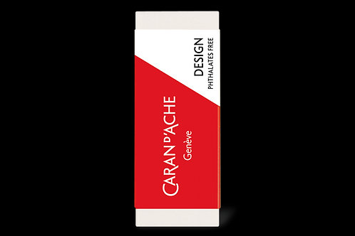 Caran Dache Design Eraser for Graphite Leads and Pencils and Coloured Pencils