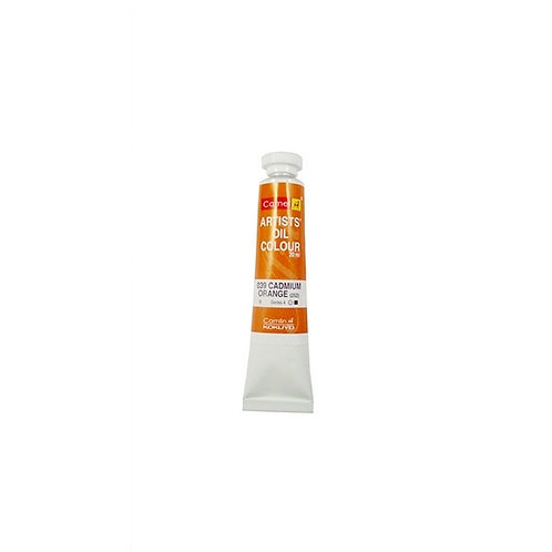 Camlin Kokuyo Artists Oil Colours 20ml - Cadmium Orange