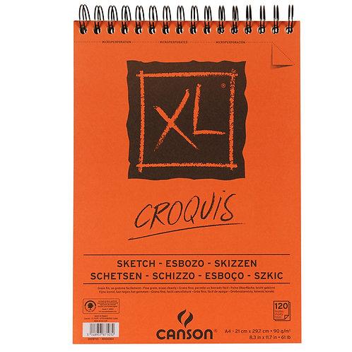 Canson XL Croquis 90gsm A3 Fine Grain Album - 120pages