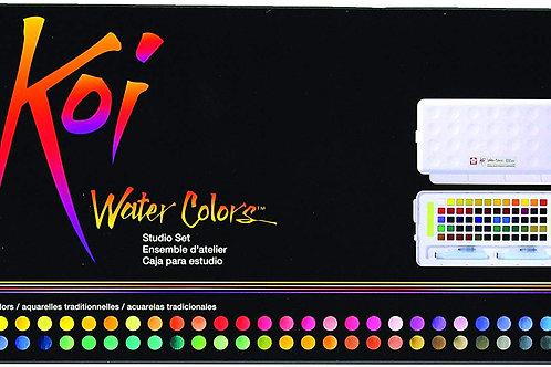 Sakura Koi XNCW-60N Studio Watercolour Set0f 60Assorted Colours.