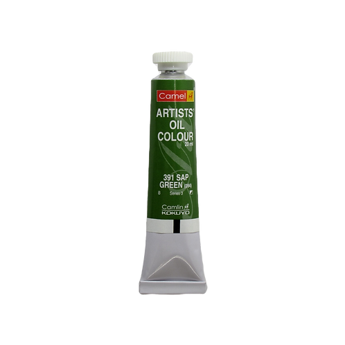 Camlin Kokuyo Artists Oil Colours 20ml - Sap Green