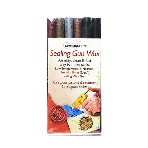 Manuscript MSH7616ASS Sealing Gun Wax Traditional Mix Pack Of 6