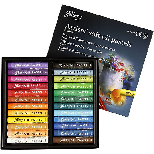 Mungyo Gallery Soft Oil Pastels Assorted Colors -  Set of 24