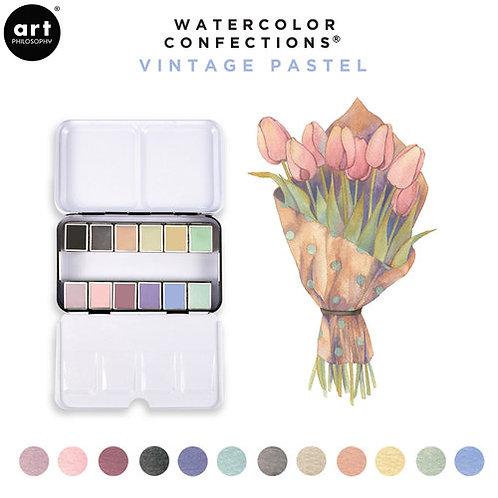 Prima Watercolor Confections - Vintage Pastel