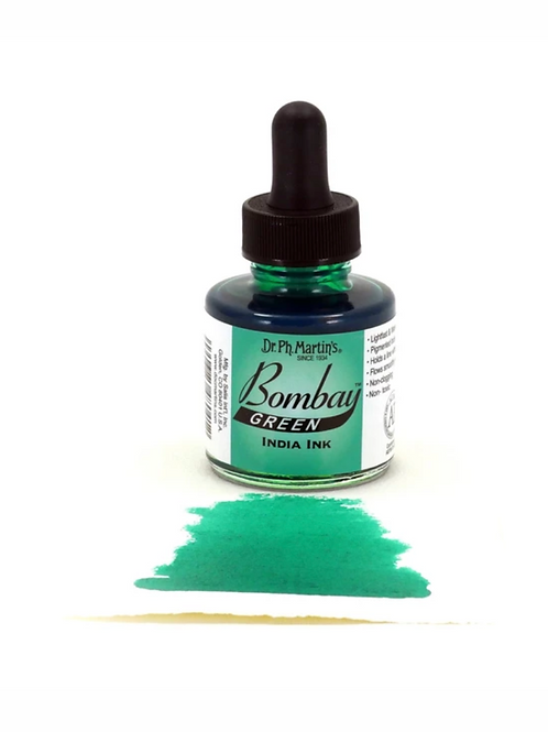 Dr. Ph. Martin Bombay Ink 30ml - Green