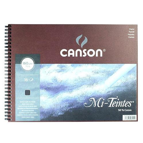 Canson Mi-Teintes : Pastel Pad : Spiral : Black