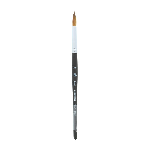Princeton Series 4850Aqua Elite Brush Synthetic Round Kolinsky Sable - Size 10