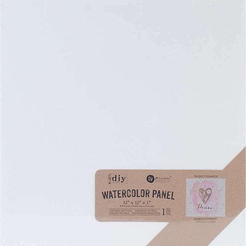 Prima Watercolour Panel 12″X12″