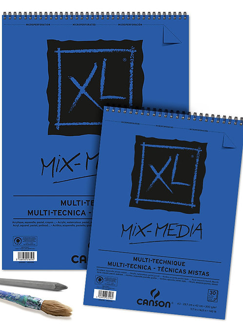 Canson XL Mixed Media 29.7x42cm - A3