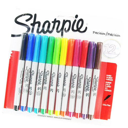 Sharpie Ultrafine Markers - Set of 12