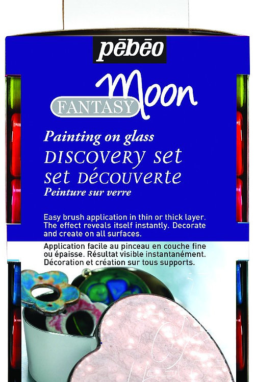 Pebeo Moon Discovery Collection Assorted Colours - 12x20ml