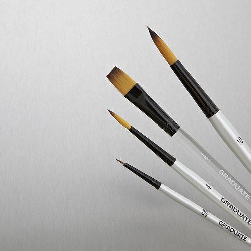 Daler Rowney Graduate Watercolour Brush - Set of 4