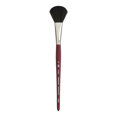 """Princeton 3950 Velvet Touch Synthetic Oval Mop Brush - Size 3/4"""""""