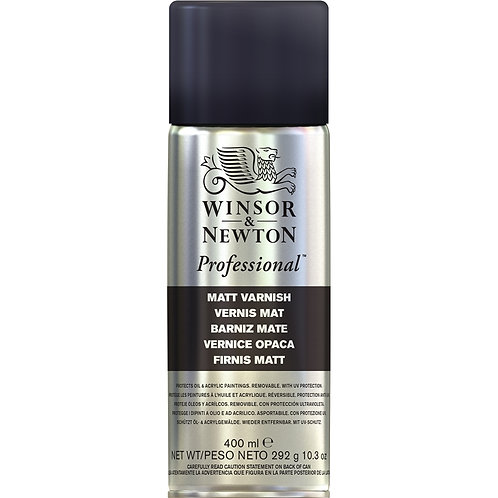 Winsor & Newton Professional Matt Varnish Spray - 400ml