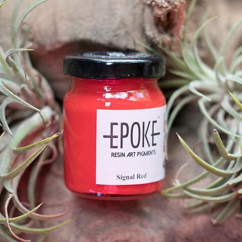 Epoke Art Pigment Paste Signal Red Opaque - 75g
