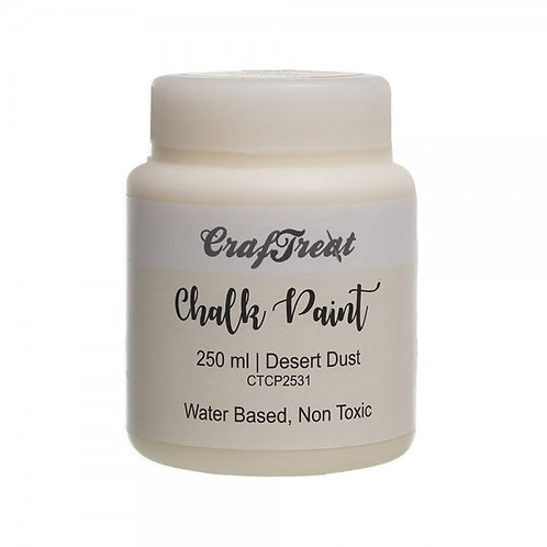 CrafTreat Chalk Paint 250ml - Desert Dust