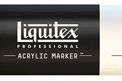 Liquitex 434 Acrylic Paint Marker 15mm Wide - Unbleached Titanium