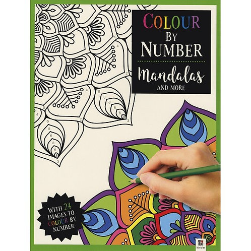 Colour By Number - Mandala and More