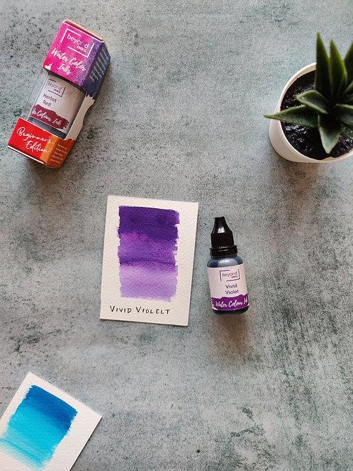 Beyond Inks Watercolor Ink 20ml - Vivid Violet
