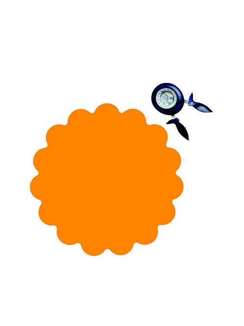 Fiskars Squeeze Punch Large - Scalloped Circle