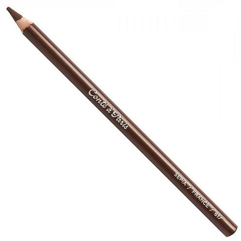 Conte A Paris Sketching Pencil - Sepia