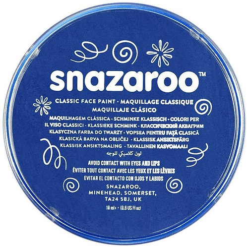 Snazaroo Classic Face Paint 18ml - Royal Blue