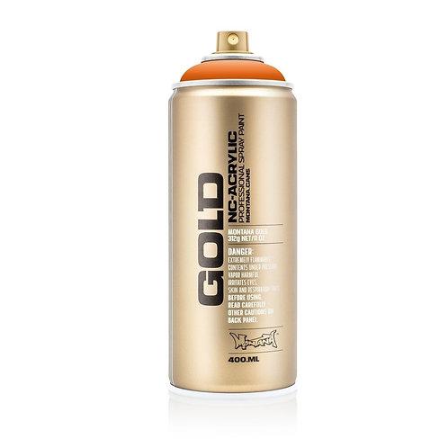 Montana Gold 400ml Spray Paint Orange - G2070