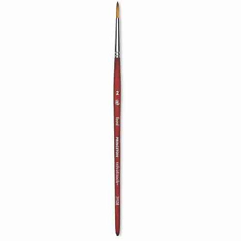 Princeton 3950VelvetouchSynthetic Mixed-Media Brush Round -Size 2