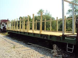Safari Car posts and rails