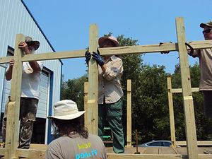 Installing top rails