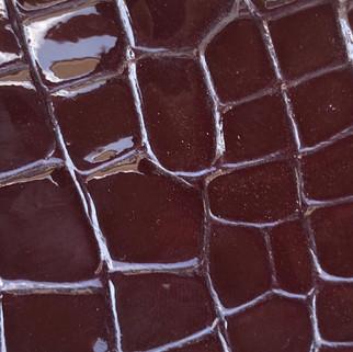 Croco vernis bordaux N°110