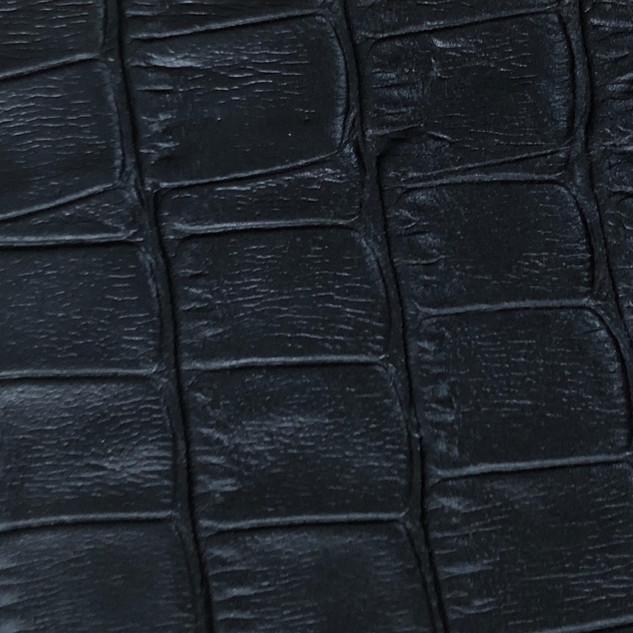 Croco mat noir N°87