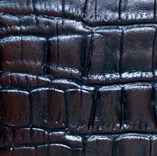 Croco mat marron N°27