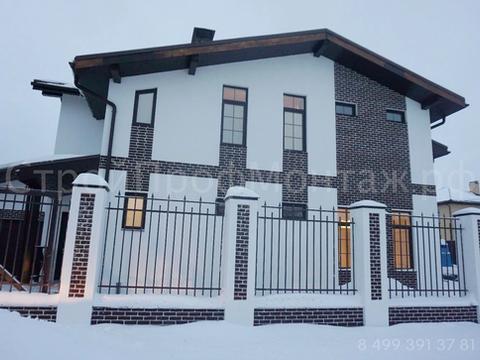 Дом 300 м² из кирпича