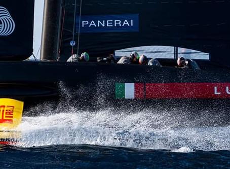 Летающая яхта!!  Эксклюзивное интервью с рулевым яхты команды Luna Rossa Франческо Бруни.