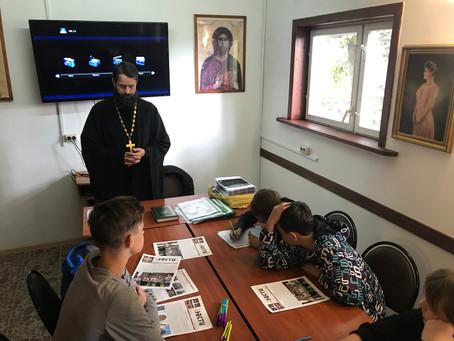 Начала свою работу Воскресная школа при Никольском соборе