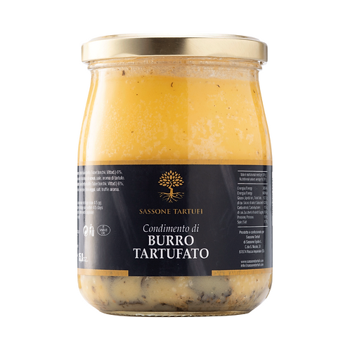 Truffle butter dressing with Bianchetto truffle 6%