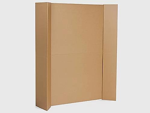 Стена из картона