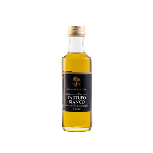 White Truffle flavoured dressing with extra virgin olive oil