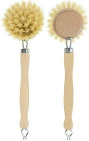 Eco wooden dish brush