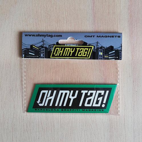 Imán Oh My Tag! (Green/Black)