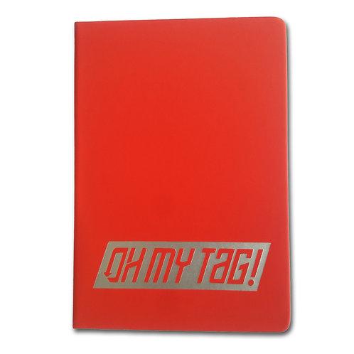 OMT Blackbook A5 Rojo