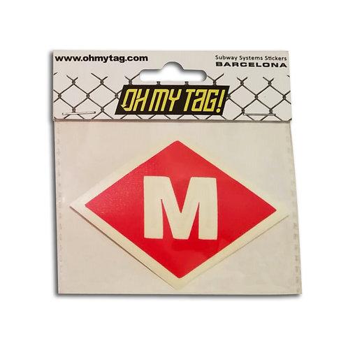 OMT Sticker Metro Barcelona